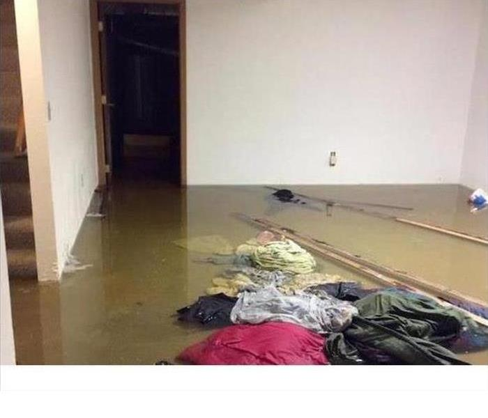 Storm Floods Entire First Floor of Home Before
