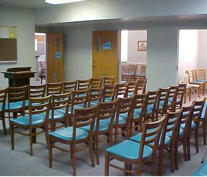 Church Classroom Fire  After