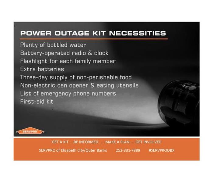 Storm Damage Power Outage Kit
